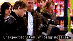 #ImAGrinchWhen there are unexpected items in the bagging area.