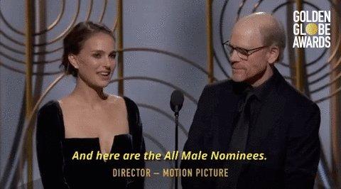 No female directors were nominated for #GoldenGlobes wp.me/p2WgDE-1jrsZ1