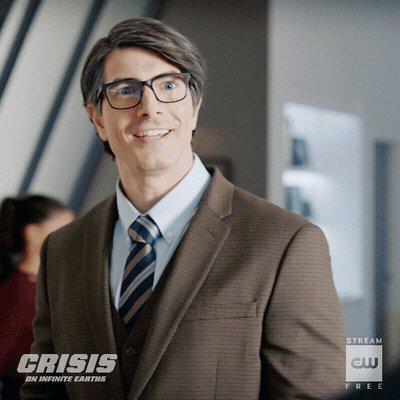 Nice glasses. #CrisisOnInfiniteEarths