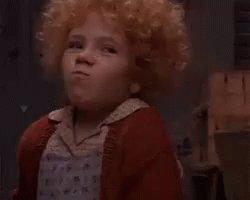#DeepThoughtsFromTomorrow Shut up, Annie!