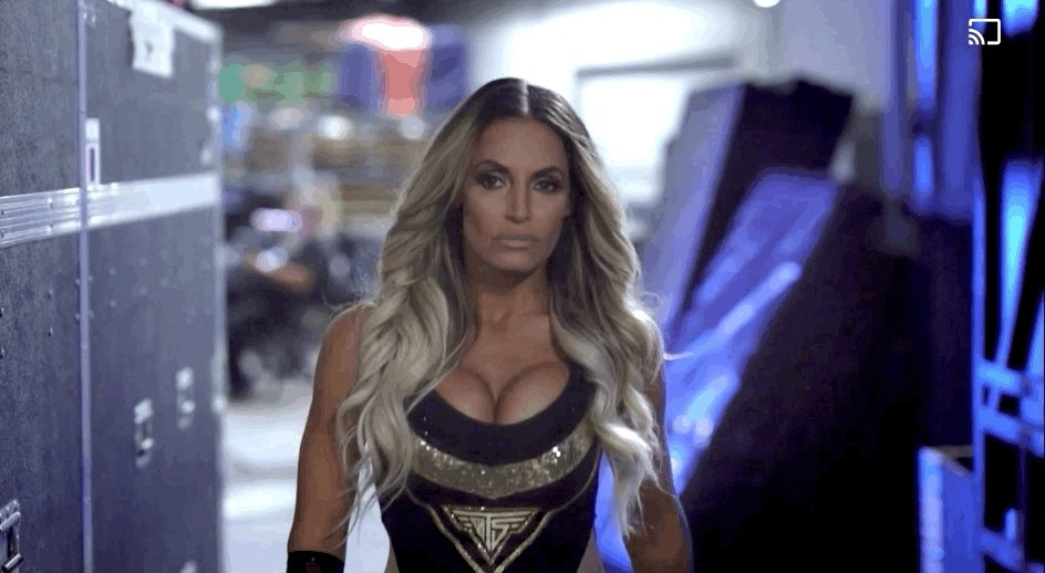 Take a look behind the scenes as @trishstratuscom prepares for the final match of her career against @MsCharlotteWWE.#WWE24: Trish Stratus streams your way RIGHT NOW on WWE Network. http://wwe.me/xuJYYI