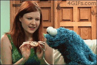 """#TakeASongToSesameStreet  """"Another One Bites The Cookie"""""""