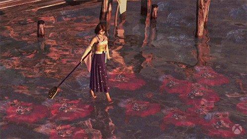 The Kilika Sending Scene in Final Fantasy X is still one of the most beautiful cutscenes in games.
