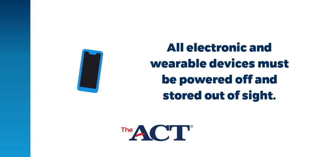 Image for the Tweet beginning: Are you taking the #ACT