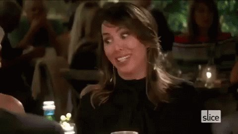 """""""Damn, Vicki sold a lot of insurance to buy herself a ring."""" - Emily #RHOC"""