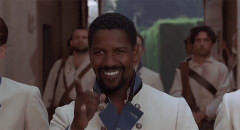 Happy 65th birthday to ma man, Denzel Washington