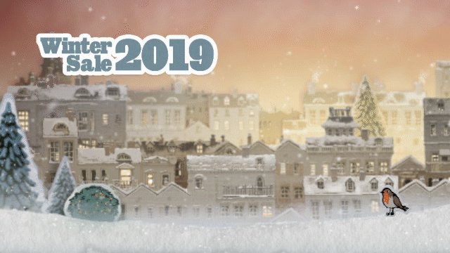 'Twas the night before the Steam sale, and in every house  People eagerly waited, with PC and mouse.  Thousands of games, just waiting for plays,  Soon shall be discounted, for 14 straight days!  #SteamWinterSale