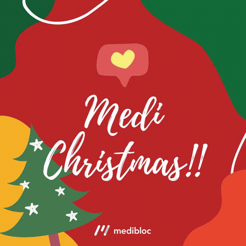 Image for the Tweet beginning: 🎄Medi-Christmas🎄  We wish you a very