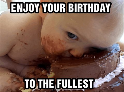 Happy birthday! May it be full of blessings and lots of cake.