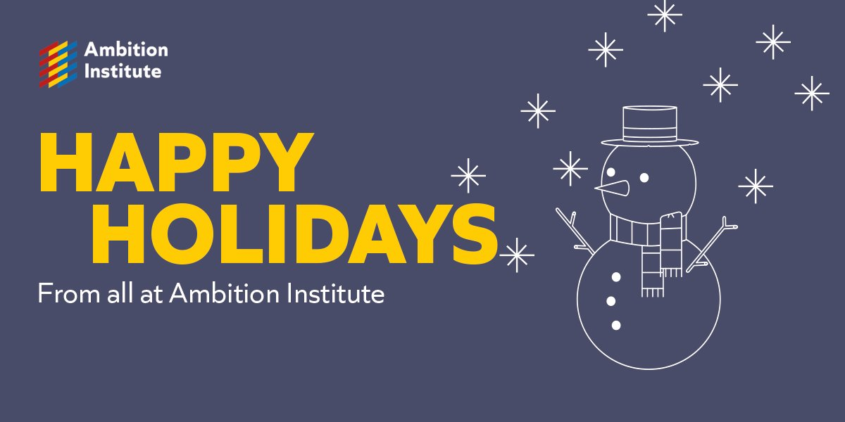 We're logging off for the holidays and will be back on social media in January. Have a lovely break! 🎄