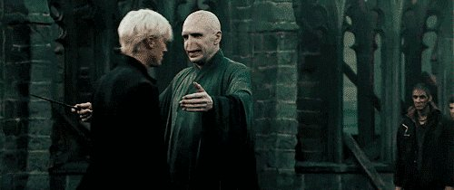 Happy birthday to Ralph Fiennes! Thanks for helping bring Voldemort to life for us!