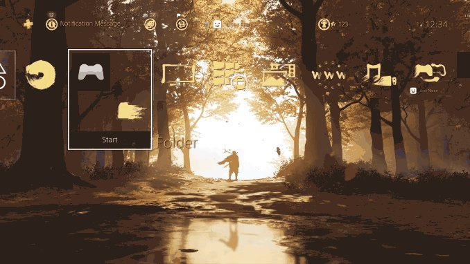 Get This Free PS4 Ghost Of Tsushima Dynamic Theme For A Limited Time - GameSpot