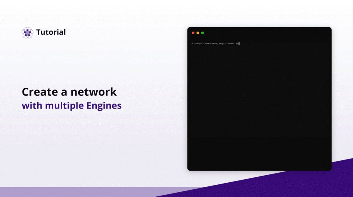 Image for the Tweet beginning: Create your own #network and
