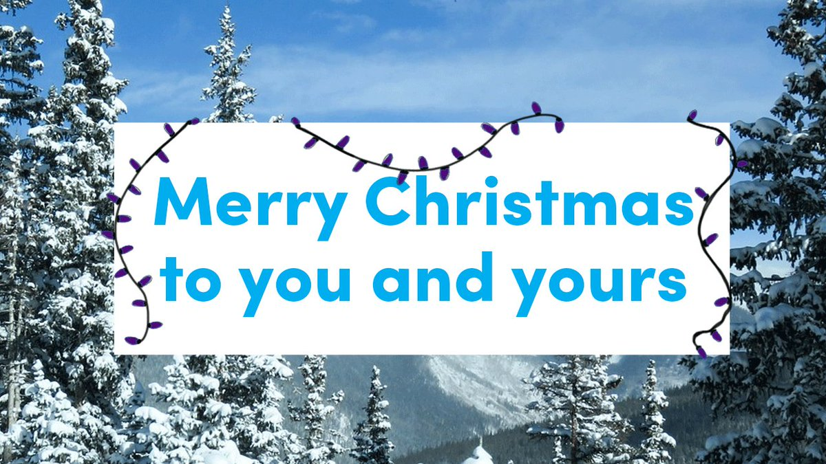 Spending the holidays with family and friends in Colorado is always a gift. Merry Christmas and Happy Holidays!