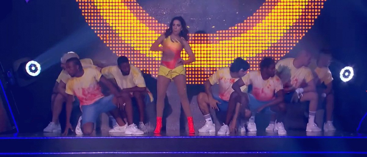 NEWS• Anitta's performance on #PrêmioMultishow 2019 has surpassed 15 MILLION views on Youtube.  — It remains as the most watched performance in the awards history.