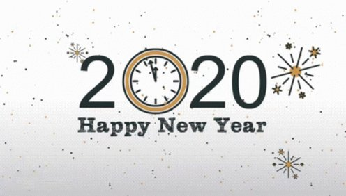 Image for the Tweet beginning: Happy New Year from The