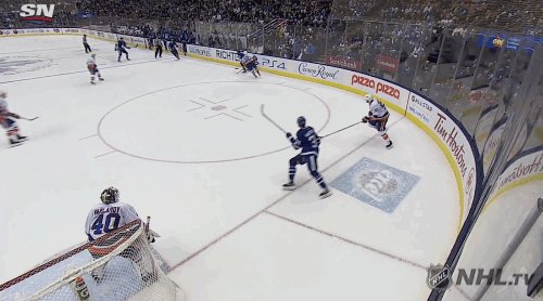 Auston Matthews scored his League-leading 21st home goal of 2019-20. #NHLStats nhl.com/stats/skaters?…