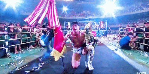 Poor Ibushi though. He optains the biggest successes of his career in 2019 by winning the IWGP Intercontinental Championship & winning #G129. But once he goes to #njwk14, he loses both nights. Hopefully big success for him in the future. #WrestleKingdom14 #NJPWpic.twitter.com/5DqqU60LcX