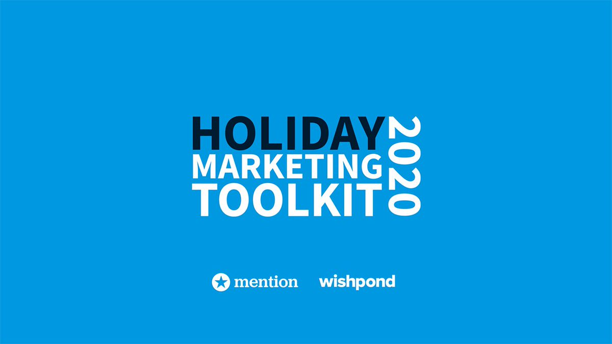 We've teamed up with our friends at Mention to create The Ultimate Holiday Marketing Toolkit for Businesses. Create winning holiday marketing campaigns to fine-tune your content all year-round. Free to download with the link below: https://t.co/lzqM2dGWAy