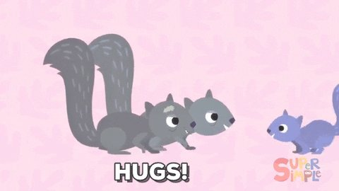Not only is it #SquirrelAppreciationDay, it's also #NationalHugDay! 🐿❤️🐿 ❤️🐿