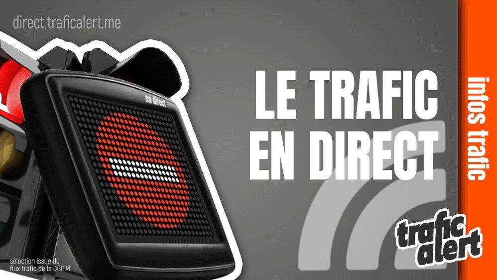 [LE TRAFIC EN DIRECT] 09:59 #A6  Sortie fermée / #SaôneetLoire  (#Lux ). #infotrafic  la sélection. +infos  http://dlvr.it/RNWLNq