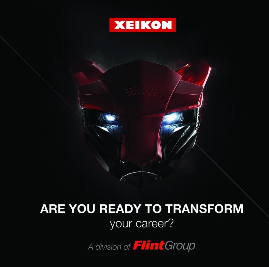 Image for the Tweet beginning: First class technician? Xeikon (France),