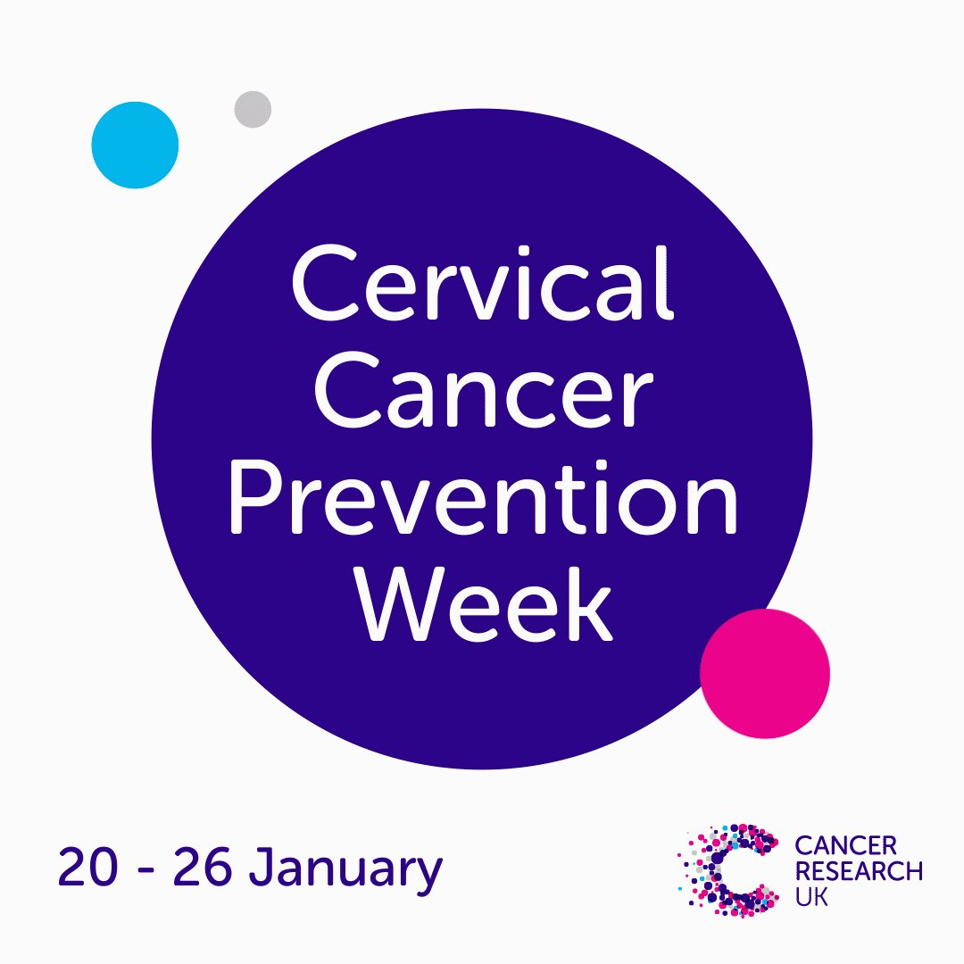 Image for the Tweet beginning: This week is #CervicalCancerPreventionWeek. Figures