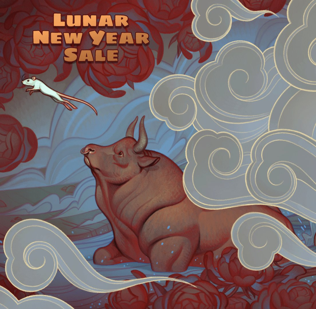 The 2020 Lunar New Year Sale has begun, and the Emperor's Great Race is on! Save on thousands of games now 'til January 27th @ 10am PST.    #SteamLNY2020