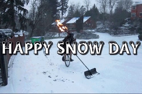 Be safe out there on this Friday snow day! #WinterWeather #snowday #FridayFeeling