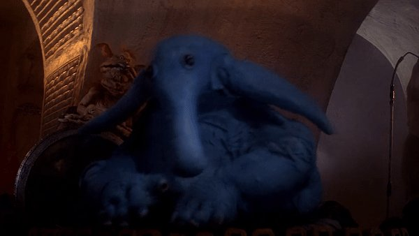 Max Rebo is happy it's #BlueMonday!