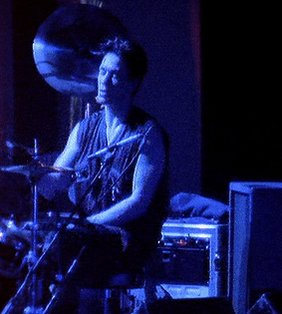 Good night, Y'all. But Alan... drum, Alan, drum #alanwilder #depechemode