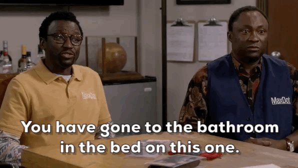 That's one way of putting it. #BobHeartsAbishola