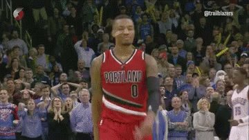 Oh my lord. Dame with 61. A career high. 11 made 3P. Most points ever scored on MLK day.
