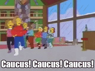So...this isn't how a caucus works?