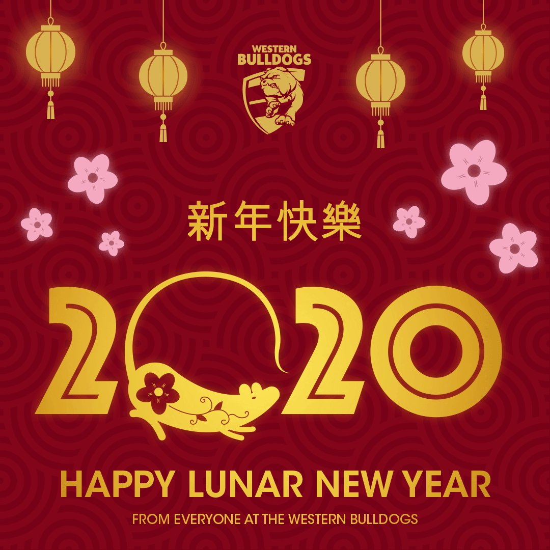 Image for the Tweet beginning: Happy Lunar New Year! We