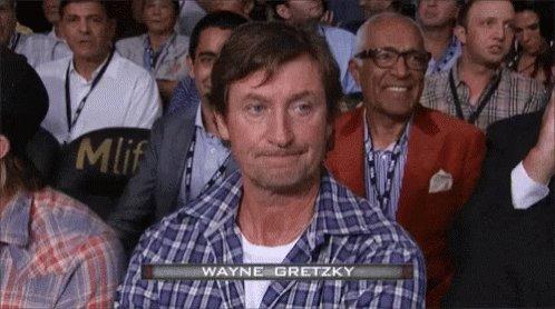 one and Happy birthday to Wayne Gretzky on Sunday