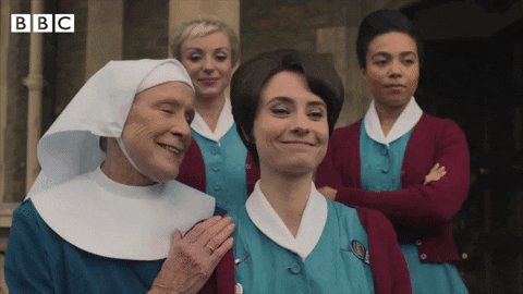 It might be cold, dark and grey, but at least #CallTheMidwife is on tonight! ❤️ 8pm. @BBCOne.