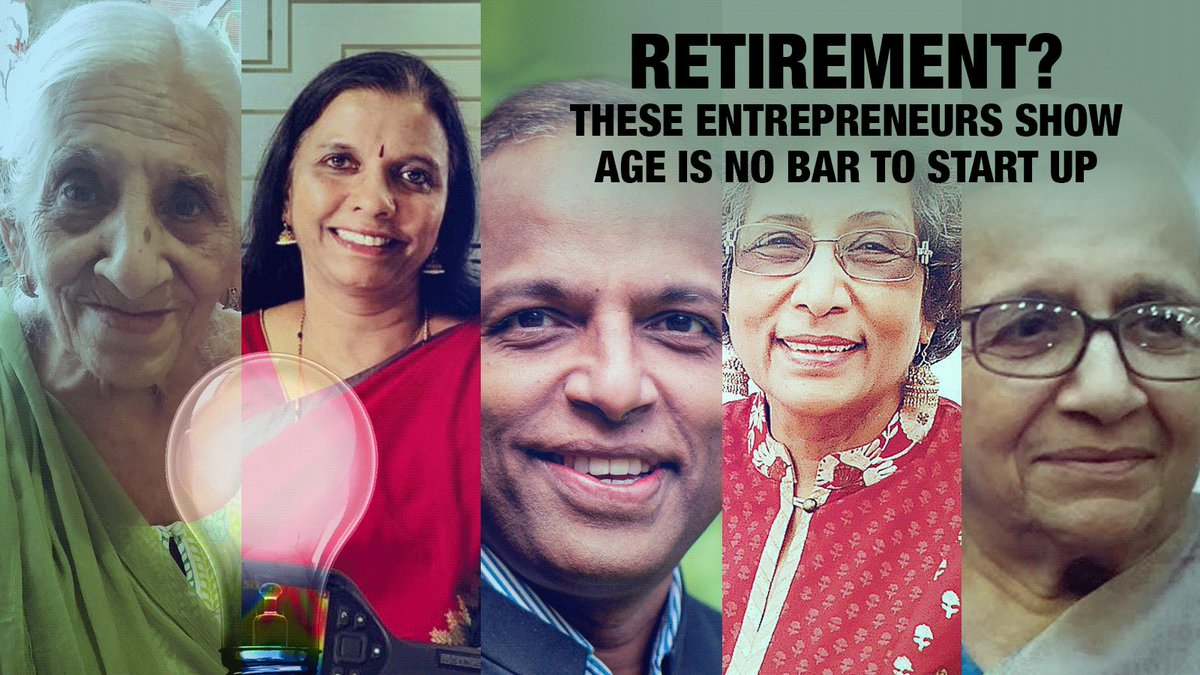 Retirement? These entrepreneurs show age is no bar to start up A 2018 study conducted by MIT professors and the US Census Bureau found that the average age of entrepreneurs at the time they founded their companies is 42.Read: http://bit.ly/37sWLc1