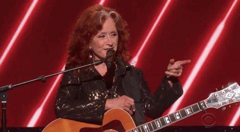 Ten-time #Grammys winner Bonnie Raitt salutes John Prine 💯