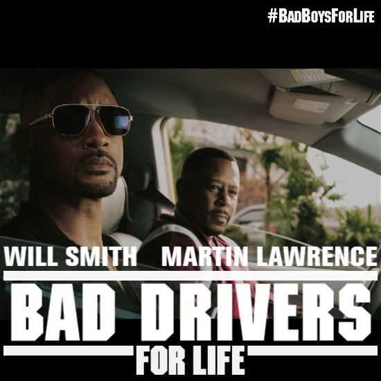 Click the link below to create your #BadBoysForLife meme using your pictures. Share your memes in the comments below and stand a chance to watch Bad Boys For Life before anyone else!  Don't forget to mention your city and #BadMemesForLIfe   Click now: http://bit.ly/BadBoysForLife_
