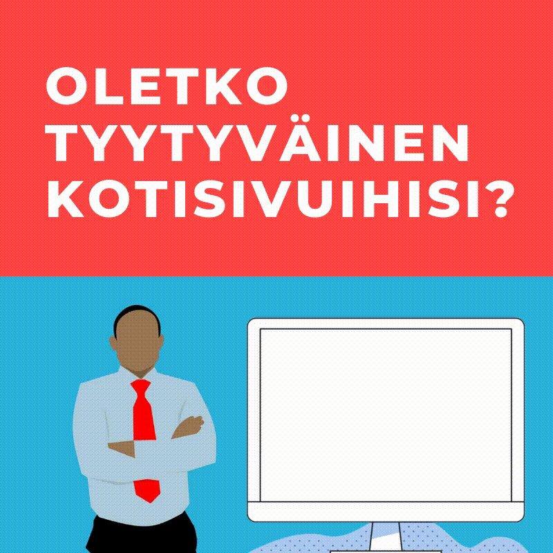 Image for the Tweet beginning: 🕵️♀️ Mitä sinä vaadit verkkosivuiltasi?  Jokaisella