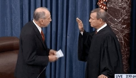 SCOTUS chief Roberts gets impeachment challenges for his birthday