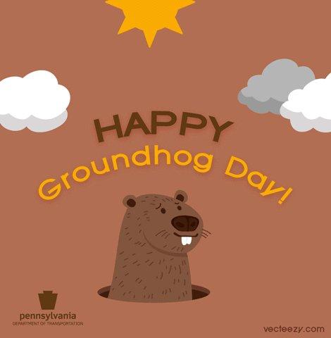 Happy Groundhog Day, Pennsylvania!