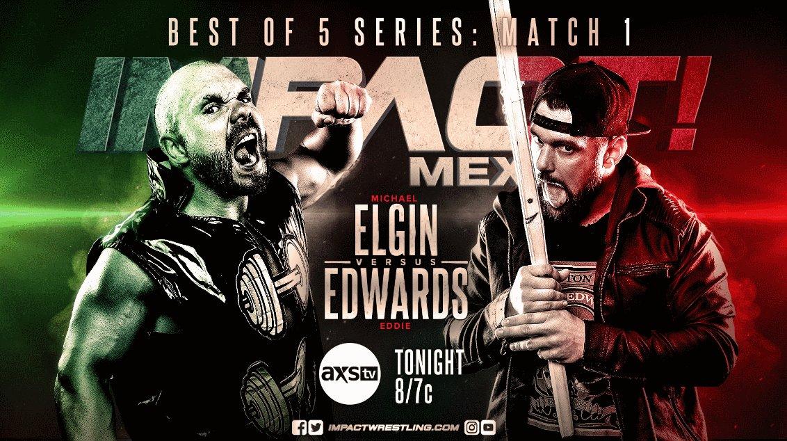 TONIGHT at 8/7c on @AXSTV/@fightnet/@Twitch!   @MichaelElgin25 vs. @TheEddieEdwards   @Walking_Weapon vs. @vikingo_aaa   @JordynneGrace vs. @HoganKnowsBest3 vs. @MadisonRayne   @Daga_wrestler and @WagnerJrOficial vs. Reno Scum  @Pagano656 and @murderelgrande vs. The Rascalz!