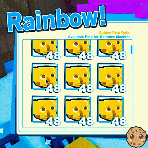 7 Rainbow Youtuber Pet Codes In Pet Simulator Roblox Roblox Cookieswirlc On Twitter I Was Finally Able To Get Rainbow Pets In Roblox Pet Simulator 2 Https T Co Ry5ensr4eg