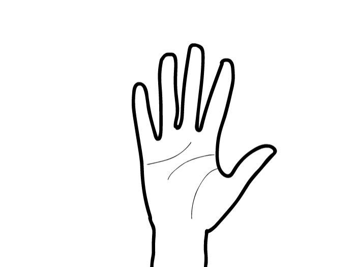 hand waving gif - 700×524