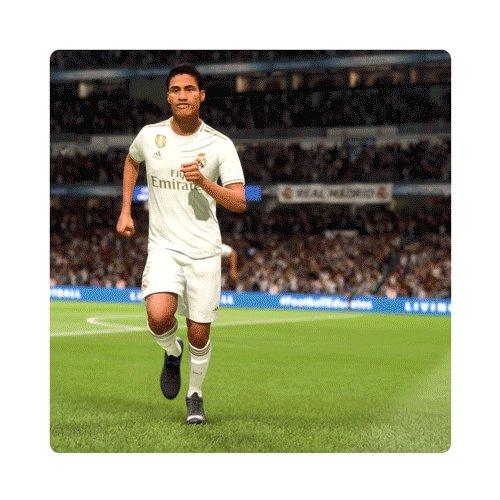 6'   0-1    ¡GOOOOOOOOOOOOOOOOOOOOOOL de @raphaelvarane! #FIFA20   #HalaMadrid