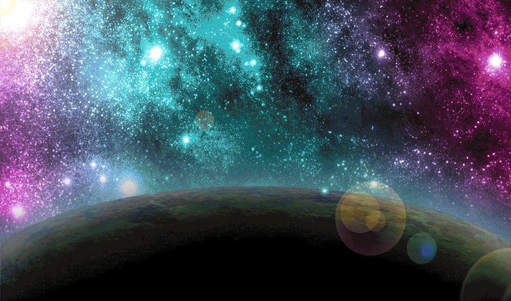 Картинка движущаяся космос