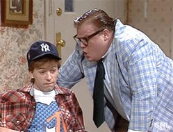 Happy Birthday, Chris Farley! You go on and celebrate in a VAN DOWN BY THE RIVER!