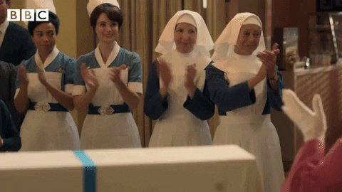 #CallTheMidwife is back tonight! 👏 8pm. @BBCOne.